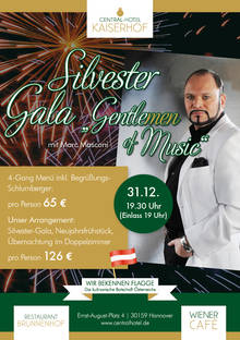 "Dezember 2015: Silvestergala ""GentleMEN of Music"""